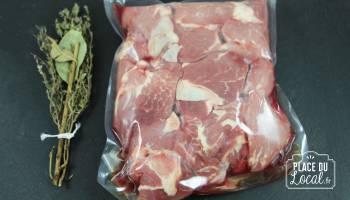 Sauté de Porc Bio sans os