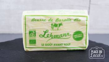 Beurre de Baratte bio