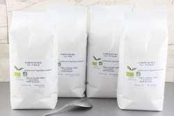 Farines de blé Bio
