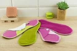 Serviette hygiénique lavable flux moyen