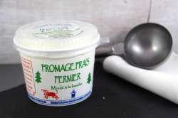 Fromage frais fermier moulé à la louche (Faisselle)