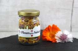 Fleurs pour salade