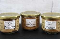 Terrines de truite